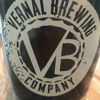 Photo taken at Vernal Brewing Company by Cary B. on 7/1/2016