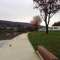 Photo taken at Port de plaisance de Monthermé by Carl L. on 11/9/2014