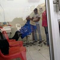 Photo taken at Kedai gunting rambut AWI by Hairul Izham I. on 12/13/2013