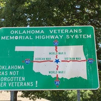 Photo taken at Oklahoma Welcome Center by Wednesday T. on 7/24/2016