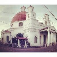 Photo taken at Gereja Blendoeg (GPIB Immanuel Semarang) by buchyar s. on 4/28/2013