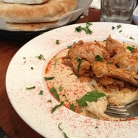 Photo taken at Hummus Kitchen by Ashley E. on 7/7/2013
