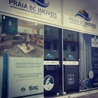 Photo taken at Imobiliária Praia BC Imóveis by Camila F. on 9/26/2014