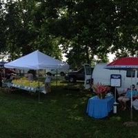 Photo taken at Farmers Market at Glassgow Park by Mister on 7/19/2013