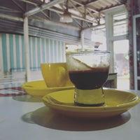 Photo taken at Bew Bicycle & Coffee by Panda-bear O. on 10/12/2015