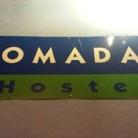 Photo taken at Nomadas hostel by Ruben V. on 3/24/2015