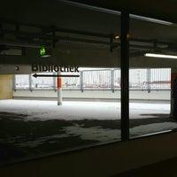 Photo taken at Helene-Nathan-Bibliothek by Alexander S. on 1/22/2014