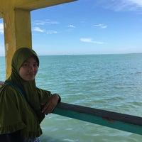 Photo taken at Pantai Purwahamba Indah by Juliyanti on 7/1/2016