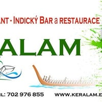 Photo taken at Keralam Indian Bar & Restaurant by Venky on 7/3/2014