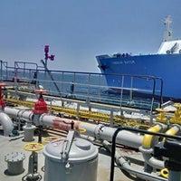 Photo taken at PT.Pertamina Trans Kontinental Sub.Cab Bitung by Ganda H. on 9/19/2014