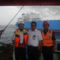 Photo taken at PT.Pertamina Trans Kontinental Sub.Cab Bitung by Ganda H. on 9/10/2014