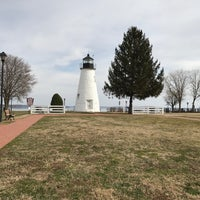 Photo taken at Concord Point and Lighthouse by Darrick D. on 2/21/2017