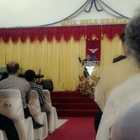 Photo taken at Gereja Pantekosta Isa Almasih 'Sola Gratia' by T.R.A.V.I.S. on 10/27/2013