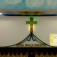 Photo taken at Gereja Pantekosta Isa Almasih 'Sola Gratia' by T.R.A.V.I.S. on 10/9/2013