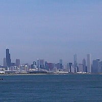 Photo taken at Chicago's Lakefront (Hyde Park) by Arthur C. on 10/9/2012
