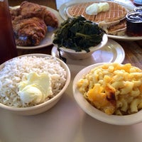 Photo taken at Roscoe's House of Chicken and Waffles by Remil M. on 10/13/2013