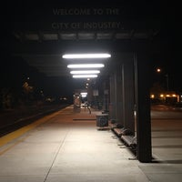 Photo taken at Metrolink Industry Station by Remil M. on 10/20/2016