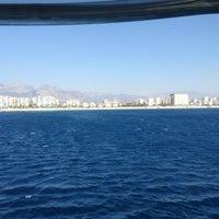 Photo taken at Средиземное море by I K. on 9/4/2013