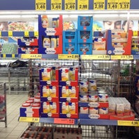 Photo taken at Lidl by Uncle Bo on 10/16/2013