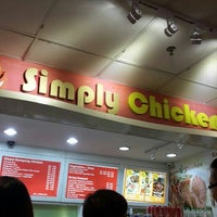 Photo taken at Simply Chicken Rice by Roslinda on 5/18/2015