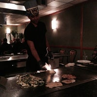 Photo taken at Kabuto Japanese Steakhouse by Daria on 4/8/2014