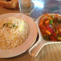 Photo taken at Taste of India by Stephanie C. on 7/11/2013