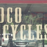 Photo taken at Soco Cycles by Rachel M. on 7/21/2013