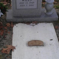 Photo taken at Woodville Cemetery by Jake B. on 1/24/2013