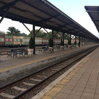 Photo taken at Pak Chong Railway Station (SRT2093) by Cherry B. on 1/14/2017