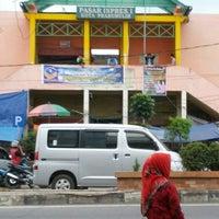 Photo taken at Pasar Prabumulih by Evan C. on 7/25/2013