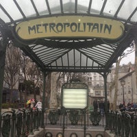 Photo taken at Place des Abbesses by Shivani R. on 4/11/2013