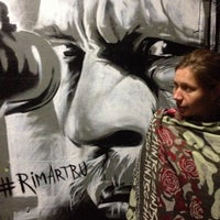 Photo taken at tunnel graffitti by Qsenia I. on 9/3/2014