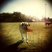 Photo taken at Chaparral Dog Park by Alana G. on 12/23/2012