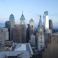 Photo taken at Loews Philadelphia Hotel by Christopher E. on 6/8/2013