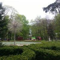Photo taken at Parcul Mihai Eminescu by Daiana N. on 4/19/2014