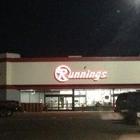 Photo taken at Runnings by Robert K. on 1/15/2013