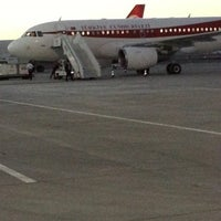 Photo taken at Şırnak Şerafettin Elçi Airport (NKT) by Ekrem D. on 7/26/2013