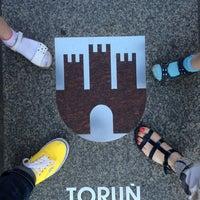 Photo taken at Torun Tourist Information by Irina K. on 7/23/2015