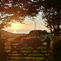 Photo taken at Lynton Camping and Caravanning Club Site by Michael D. on 8/7/2015