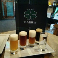 Photo taken at Cervejaria Madra Bier by André A. on 6/19/2014