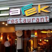 7/21/2013 tarihinde Onur A.ziyaretçi tarafından Cafeka Restaurant & Cafe'de çekilen fotoğraf