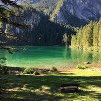 Photo taken at Lago di Tovel by Francesca M. on 8/7/2016