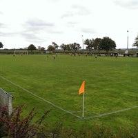 Photo taken at Stade de Cravant les Coteaux by Thomas B. on 10/13/2013