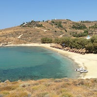 Photo taken at Porto Koundouros Beach by Ioanna A. on 7/12/2013