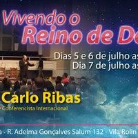 Photo taken at Igreja Missão Doxa by Carlo R. on 7/7/2013