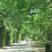 Photo taken at Katy Trail by Andres E. on 4/18/2014