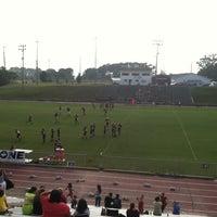 Photo taken at West Point High School Warriors Stadium by Josh S. on 9/10/2013