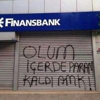 Photo taken at QNB Finansbank by  T.c. Uğur Y. on 6/26/2018