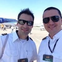 Photo taken at Expo Aero Brasil by Eduardo S. on 7/14/2013