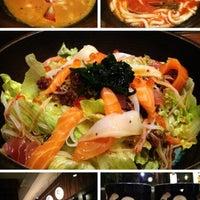 Photo taken at WARAKU Japanese Casual Dining by Novan S. on 6/14/2013